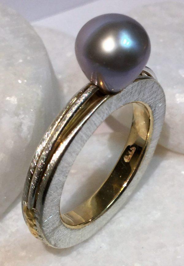 Tropfenperlen-Ring
